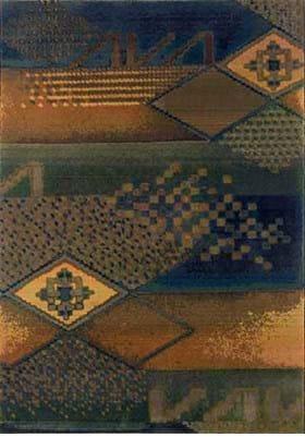 Oriental Weavers 618F Blue Green