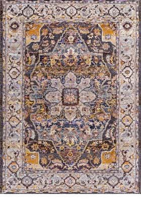 Dynamic Rugs 5342 979 Navy Tan Multi