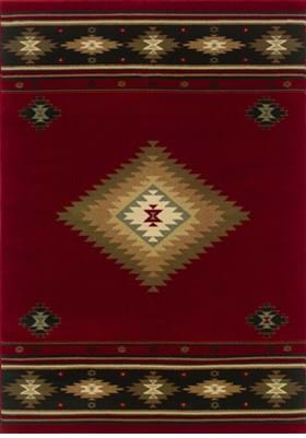 Oriental Weavers 087K1 Red