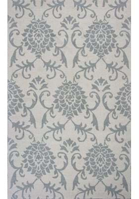 KAS Damask 3500 Ivory Grey