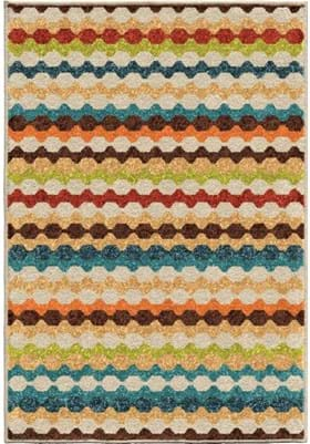 Orian Rugs Connect The Dots 2340 Multi