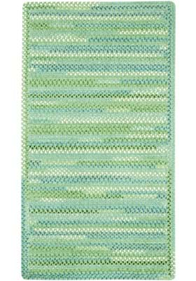 Capel Waterway Green Cross Sewn Rectangle