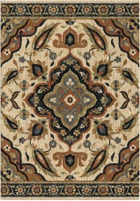 Orian Rugs 4409 Wada Off White