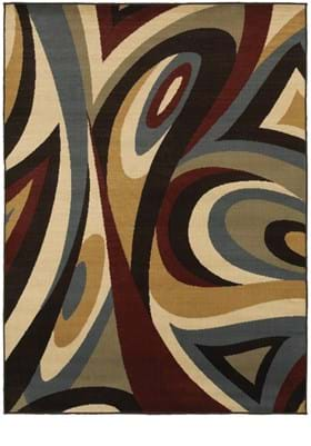 Oriental Weavers 6016B Brown Multi