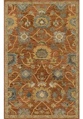 Loloi Rugs UN-01 Rust Gold
