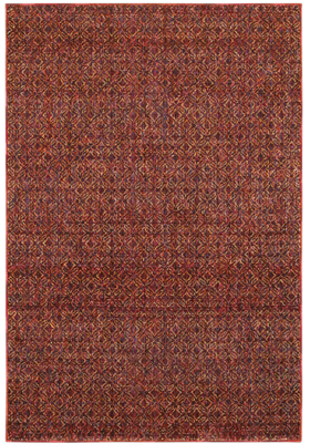 Oriental Weavers 8048K Red Rust