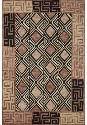 Loloi Rugs NAL-06 Rose Black