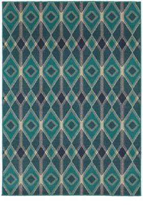 Oriental Weavers 6627B Blue