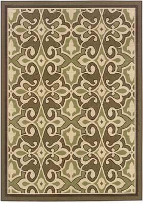 Oriental Weavers 2335G Green Brown