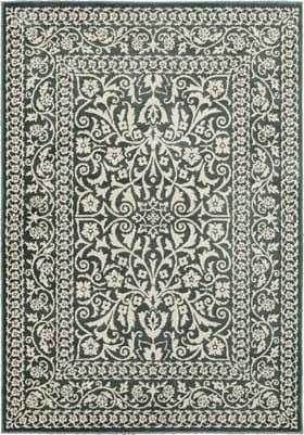 Oriental Weavers 7018D Blue Ivory