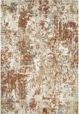Loloi Rugs Footprint LAN03 Rust