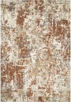 Loloi Rugs Footprint LAN03 Rust