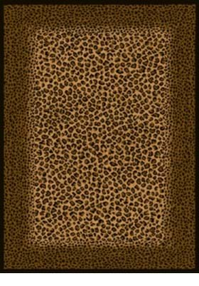 United Weavers 910-04050 Leopard Skin Brown