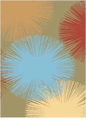 Rugs America Fireworks 2279 Light Green
