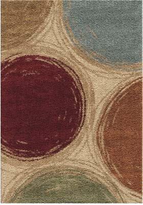 Orian Rugs Sketching Circles 3711 Multi