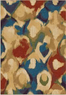 Orian Rugs Foxglove 3821 Multi