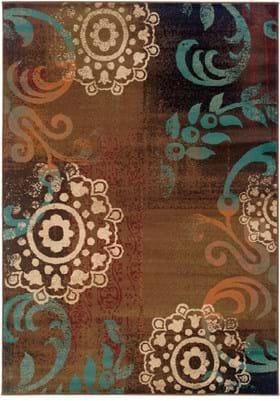 Oriental Weavers 2822A Brown