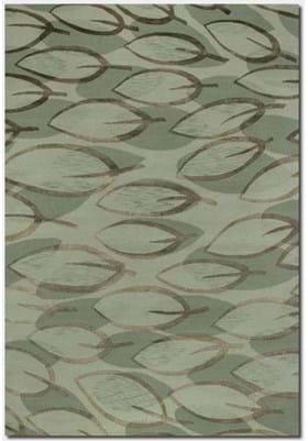 Couristan 8089 Sage Leaf 0899 Sage Silver