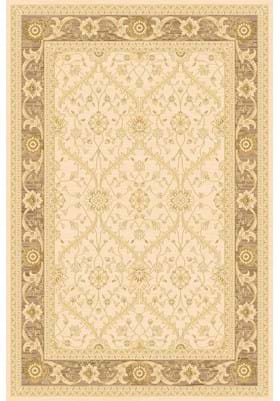 Rugs America 7707C Trellis Cream Brown