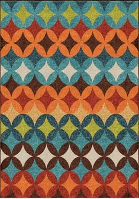 Orian Rugs Berkley 2366 Multi