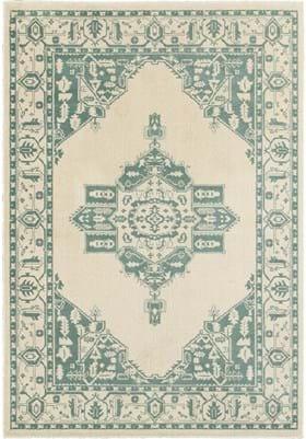 Oriental Weavers 7370J Ivory Blue