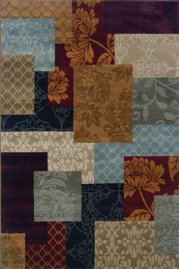 Transitional Patchwork Area Rug