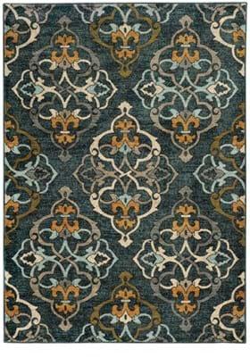 Oriental Weavers 6368B Blue Gold