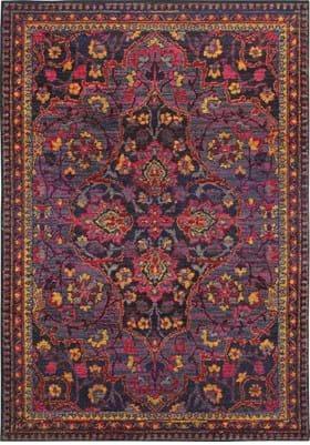 Oriental Weavers 2268M Navy Pink