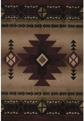 United Weavers 510-27034 Flagstaff Burgundy