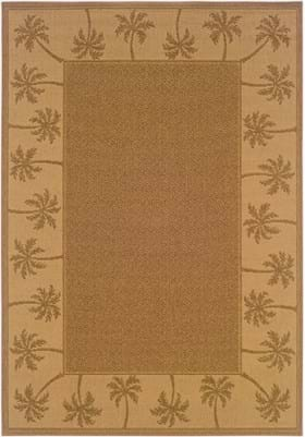 Oriental Weavers 606M7 Brown