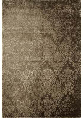 Rugs America 7927B Tan Damask