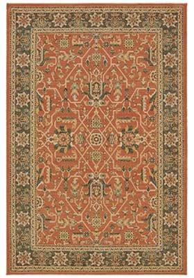 Oriental Weavers 9537 C Orange Blue