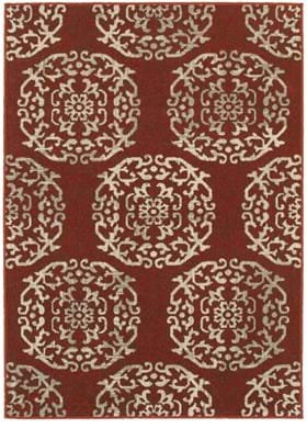 Oriental Weavers 6672B Red