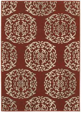 Oriental Weavers 6672B Red