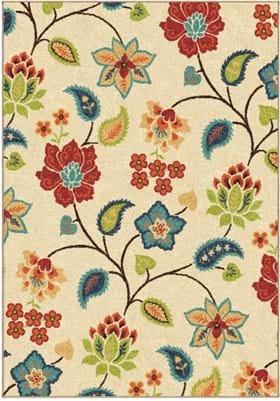 Orian Rugs Full Bloom 2338 Ivory