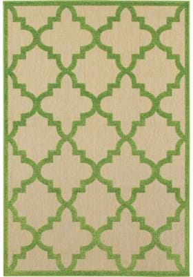 Oriental Weavers 660F Sand Green