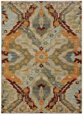 Oriental Weavers 6357A Beige Orange