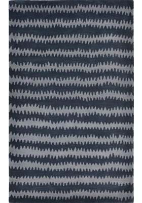 Trans Ocean Ikat Chevron 945033 Denim