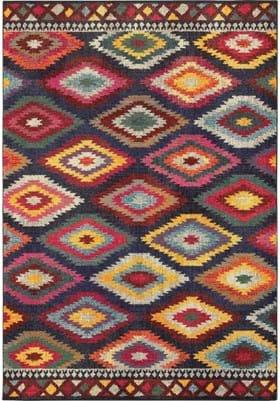 Oriental Weavers 668N Navy Multi