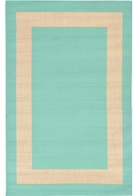 Trans Ocean Border 178693 Turquoise