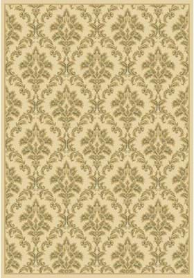 Central Oriental Tapestry 2069 Ivory
