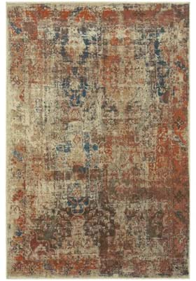 Oriental Weavers 521X Red Beige