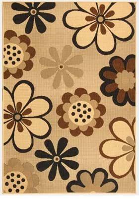 Safavieh CY4035D Natural Brown Black