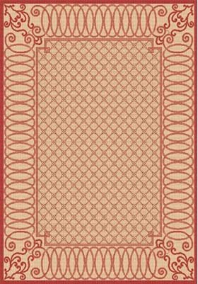 Dynamic Rugs 2587 3701 Beige Red