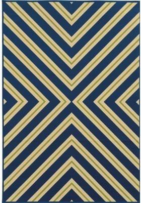 Oriental Weavers 4589L Blue Ivory