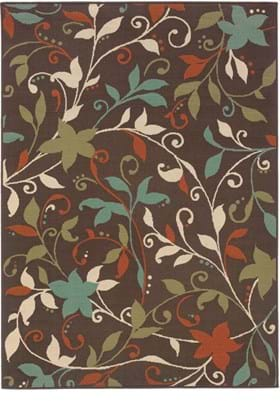 Oriental Weavers 967X6 Brown