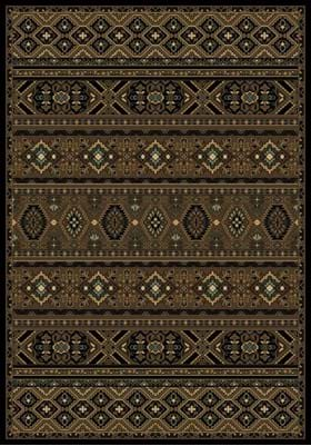 Central Oriental Aztec Mosaic 2080 Brown