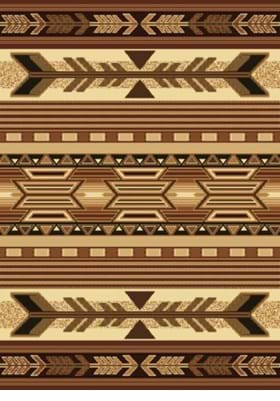 United Weavers 910-06750 Broken Arrow Brown