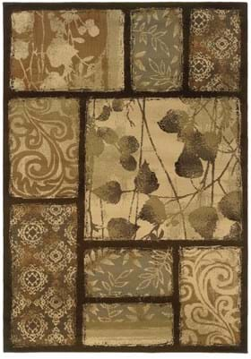 Oriental Weavers 8025D Brown Tan