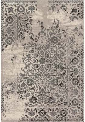Loloi Rugs EB-01 Ivory Charcoal